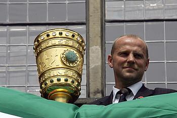Thomas Schaaf führte Werder Bremen 2004 zum Double.