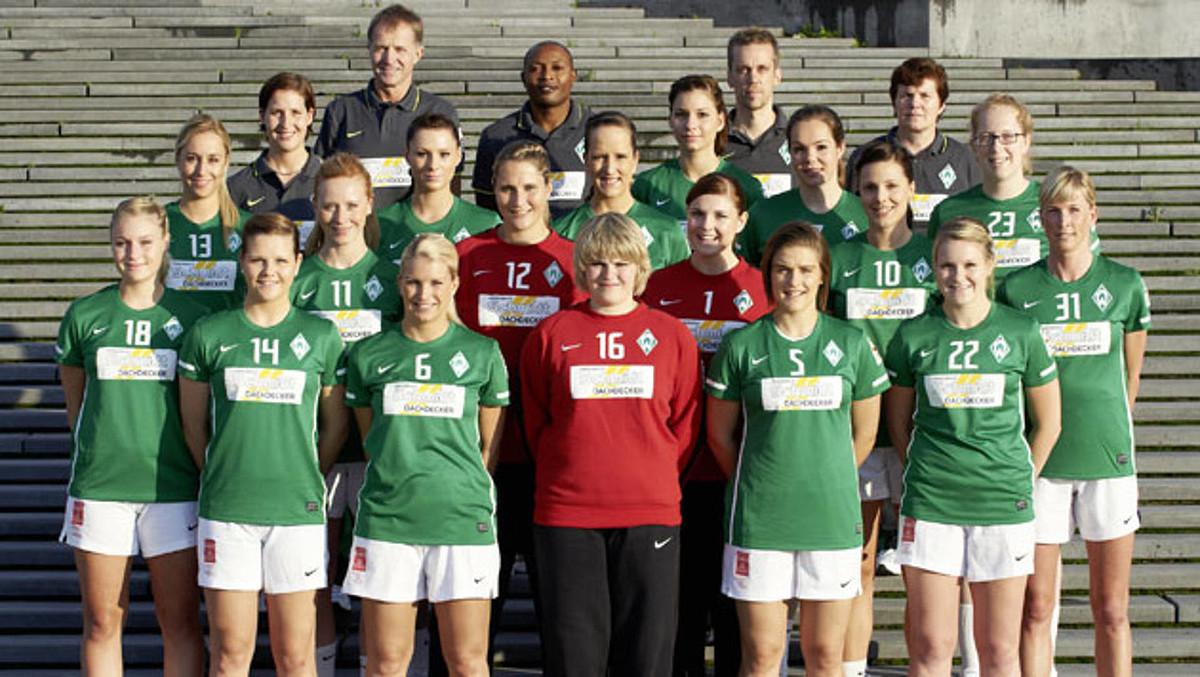 Das Teamfoto der 1. Frauen aus der Saison 2011/2012