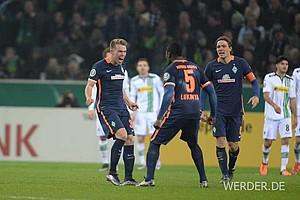 Janek Sternberg erzielte mit seinem ersten Pflichtspieltreffer für den SVW den zwischenzeitlichen Ausgleich zum 1:1.