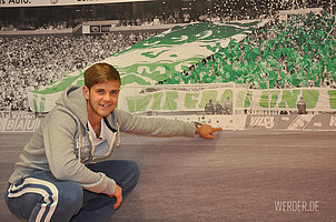 """Da steht das Tor! """"Fülle"""" startete bei Werder voll durch: In der B-Jugend erzielte er in 22 Spielen 17 Tore und in der A-Jungend traf er zwölf Mal in 17 Spielen."""