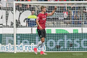 """Treffsicher: """"Lücke"""" erzielte in 79 Spielen 24 Tore für Hannover 96!"""