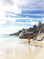 Auch Florian Grillitsch urlaubte auf den Seychellen. Dort traf er sogar zufällig einen Mitspieler (Foto: Instagram/floriangrillitsch).