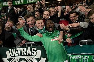 Der Spieler des Spiels war Anthony Ujah, der Werder mit seinem Tor eine Runde weiter schoss.