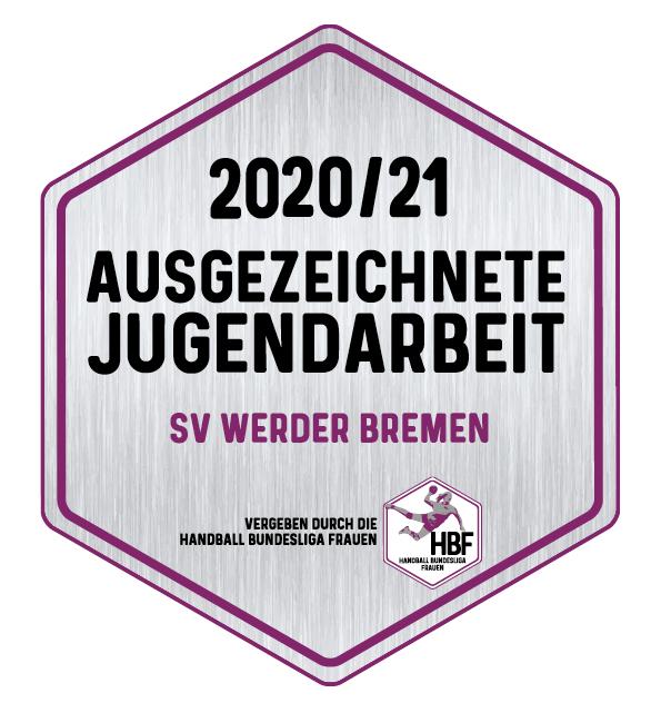 Das Logo vom HBF Jugendzertifikat.
