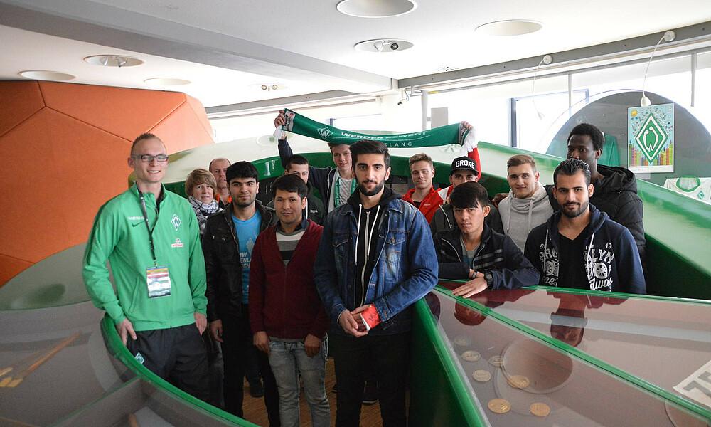 Heimspielbesuch Schule Egge Sv Werder Bremen