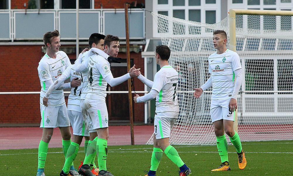 Viertelfinale U 19 Besiegt Heidenheim Sv Werder Bremen