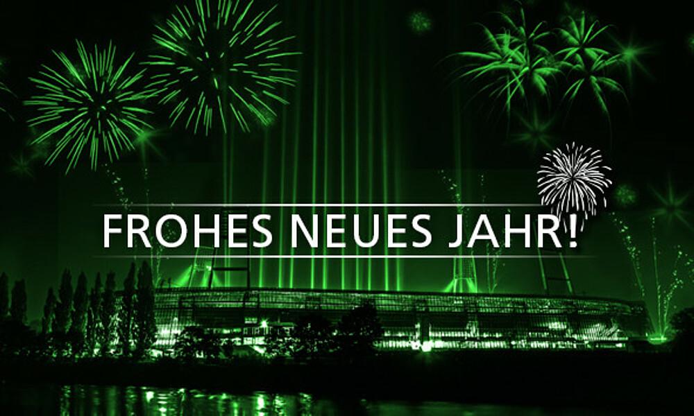 Werder Bremen wünscht ein frohes neues Jahr!   SV Werder Bremen