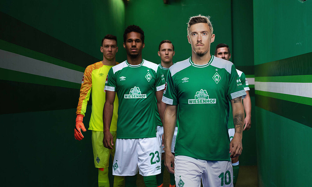 11f075663 WeDare – Werder and Umbro unveil new kit | SV Werder Bremen