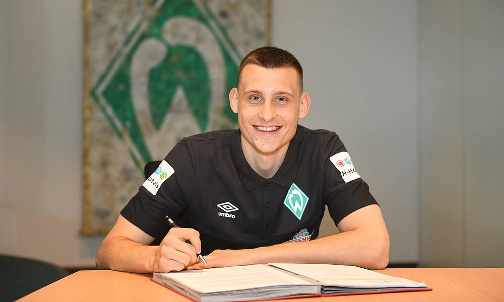 Maximilian Eggestein Bleibt Langfristig Werderaner Sv Werder Bremen