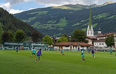 在七月旅行到Zillertal旅行