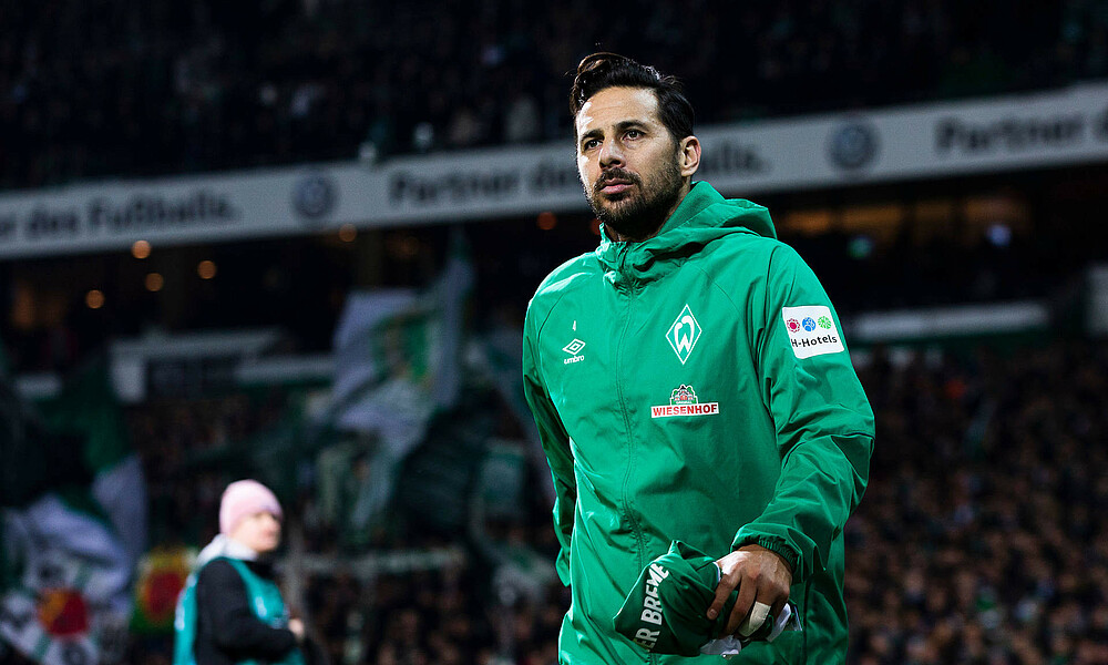 Claudio Pizarro suffers muscle injury | SV Werder Bremen