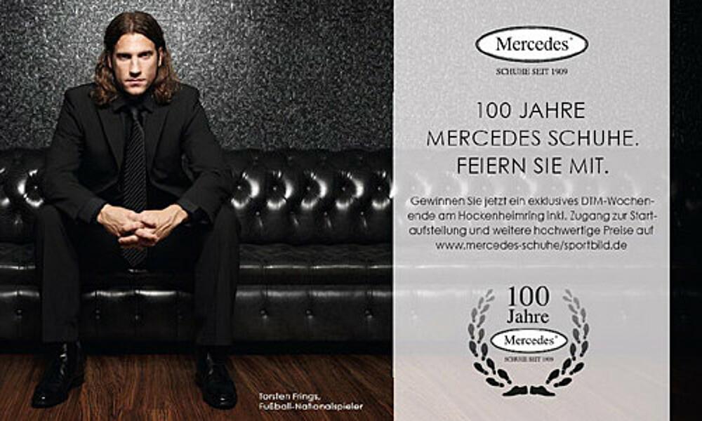 purchase cheap 5e900 2f703 Werder-Ausstatter Mercedes Schuhe feiert Jubiläum   SV ...