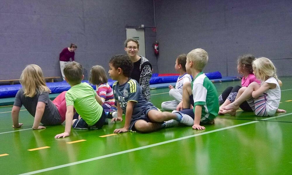 Kinder Turnen 3 4 Jahrige Sv Werder Bremen